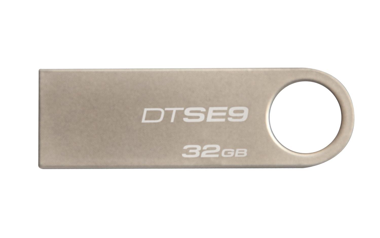 Kingston Digital Data Traveler SE9 32GB USB 2.0 Flash Driver (DTSE9H/32GB Zet)