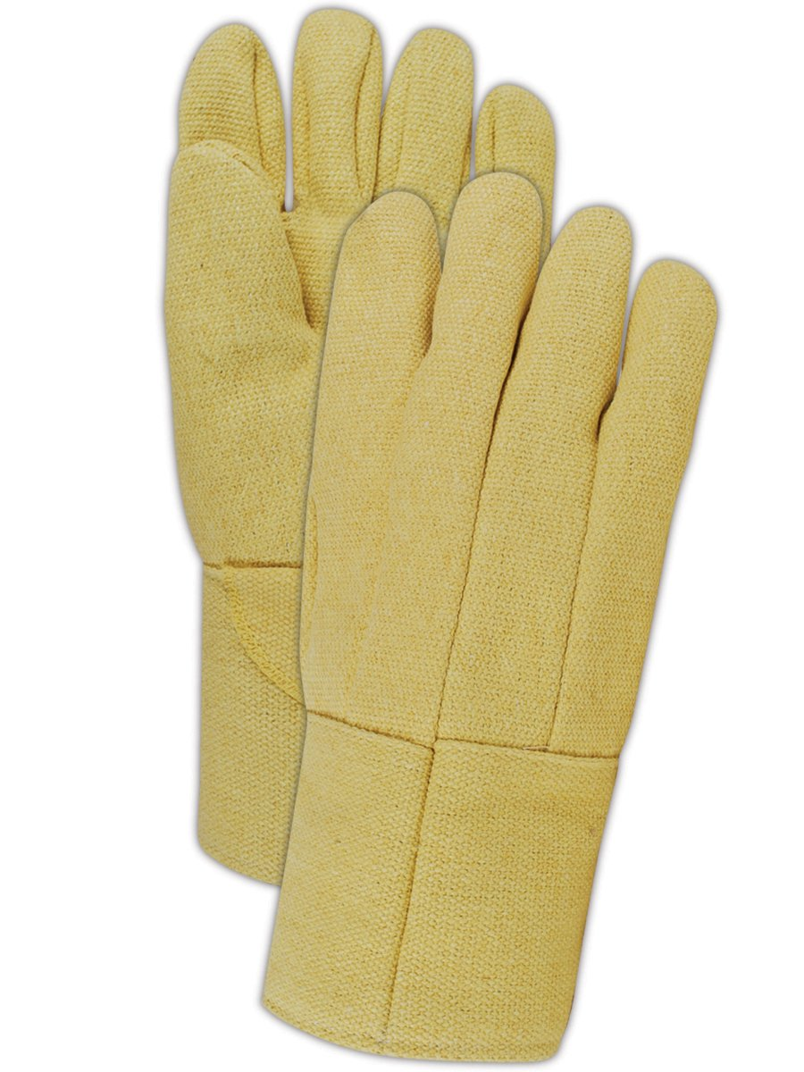 Magid GG1314WL Wool Lined Kevlar High Heat General Welding Glove, Work, Size 12 (Case of 3)