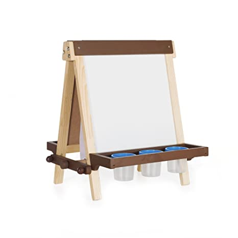 Art Easel With Paint Pots