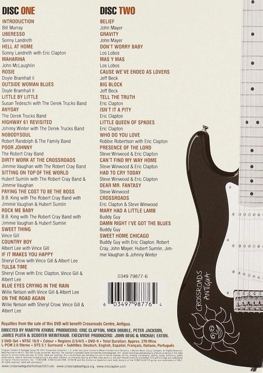 Crossroads Guitar Festival 2007 [DVD]: Amazon.es: Eric Clapton ...