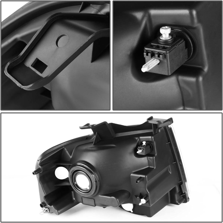 Driver /& Passenger Side DNA Motoring HL-OH-FEXP07-BK-AM Headlight Assembly