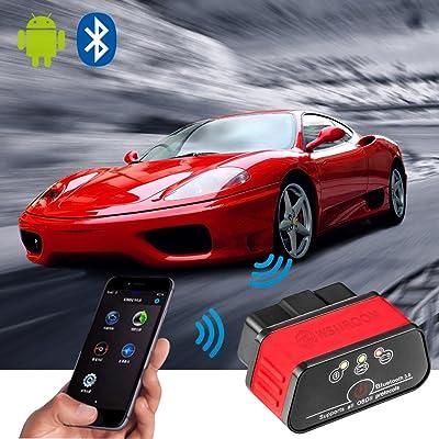 wsiiroon Bluetooth 3.0 OBD2 Scanner