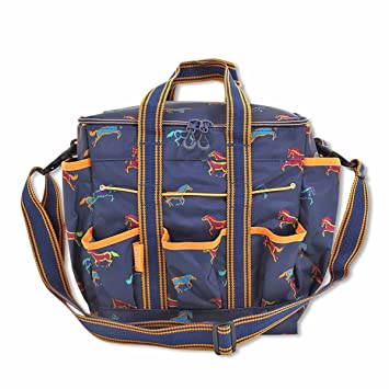 b914c2417d5a Shires Grooming Kit Bag Horse Print One Size  Amazon.co.uk  Sports ...