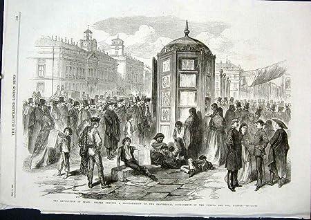 Proclamación 1868 Del Solenoide De España Madrid Puerta De La Revolución [Cocina Y Hogar]: Amazon.es: Hogar