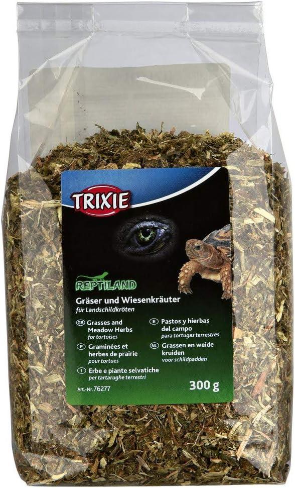 TRIXIE Pastos y Hierbas Tortugas Terrestres, 300 g, Reptiles