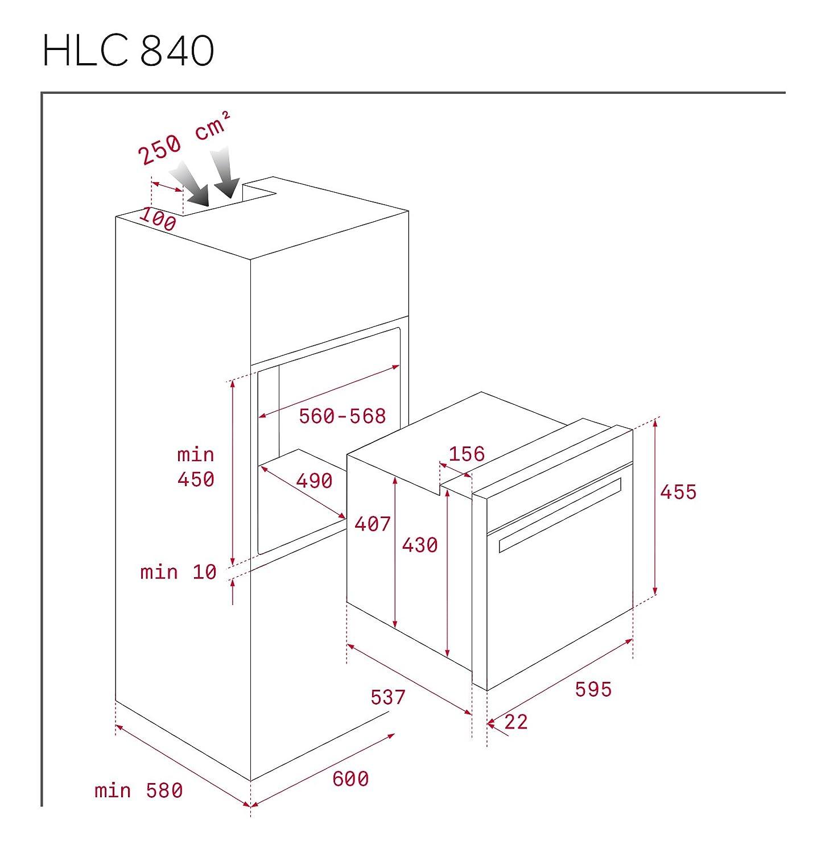Teka 41531020 Horno Compacto con Sistema de Limpieza: Amazon.es: vencobaix