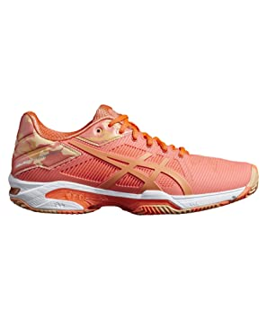 ASICS Damen Tennisschuhe Sandplatz Gel-Solution Speed 3 Clay: Amazon ...