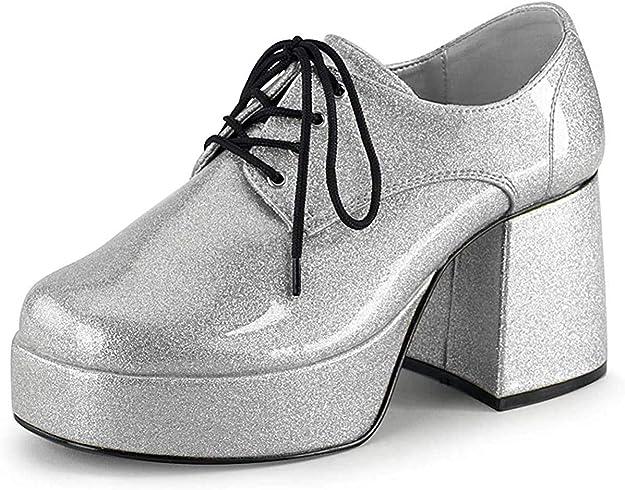 TALLA 43/44 EU. Pleaser JAZZ-02, Zapatos de Cordones Brogue para Hombre