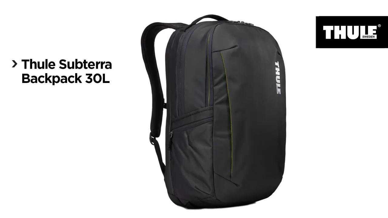 Thule TSLB317MIN - Mochila para ordenador portátil, 30 L, color granate: Amazon.es: Informática