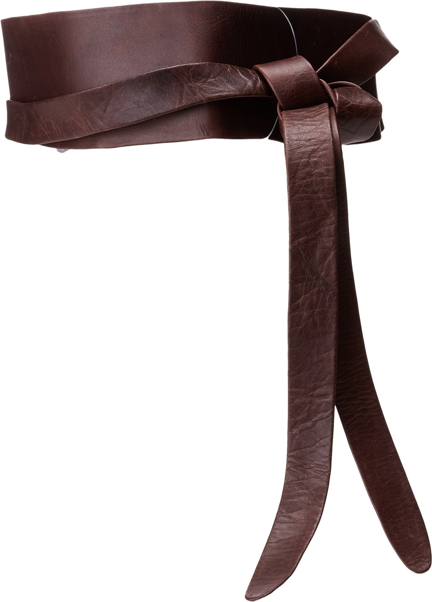 ADA Collection Women's Obi Classic Wrap Belt Chocolate One Size by ADA Collection