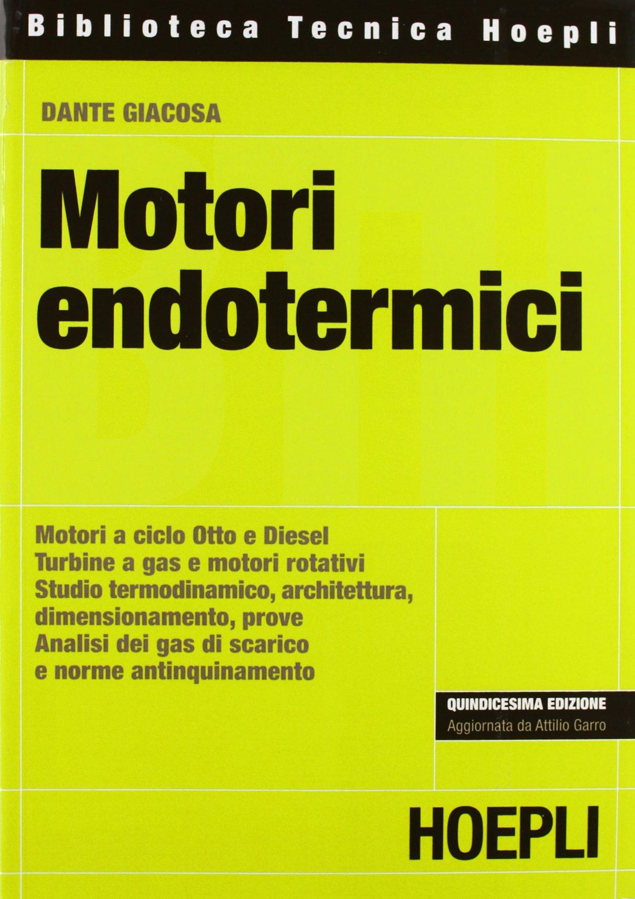 Motori A Combustione Interna Giancarlo Ferrari Pdf