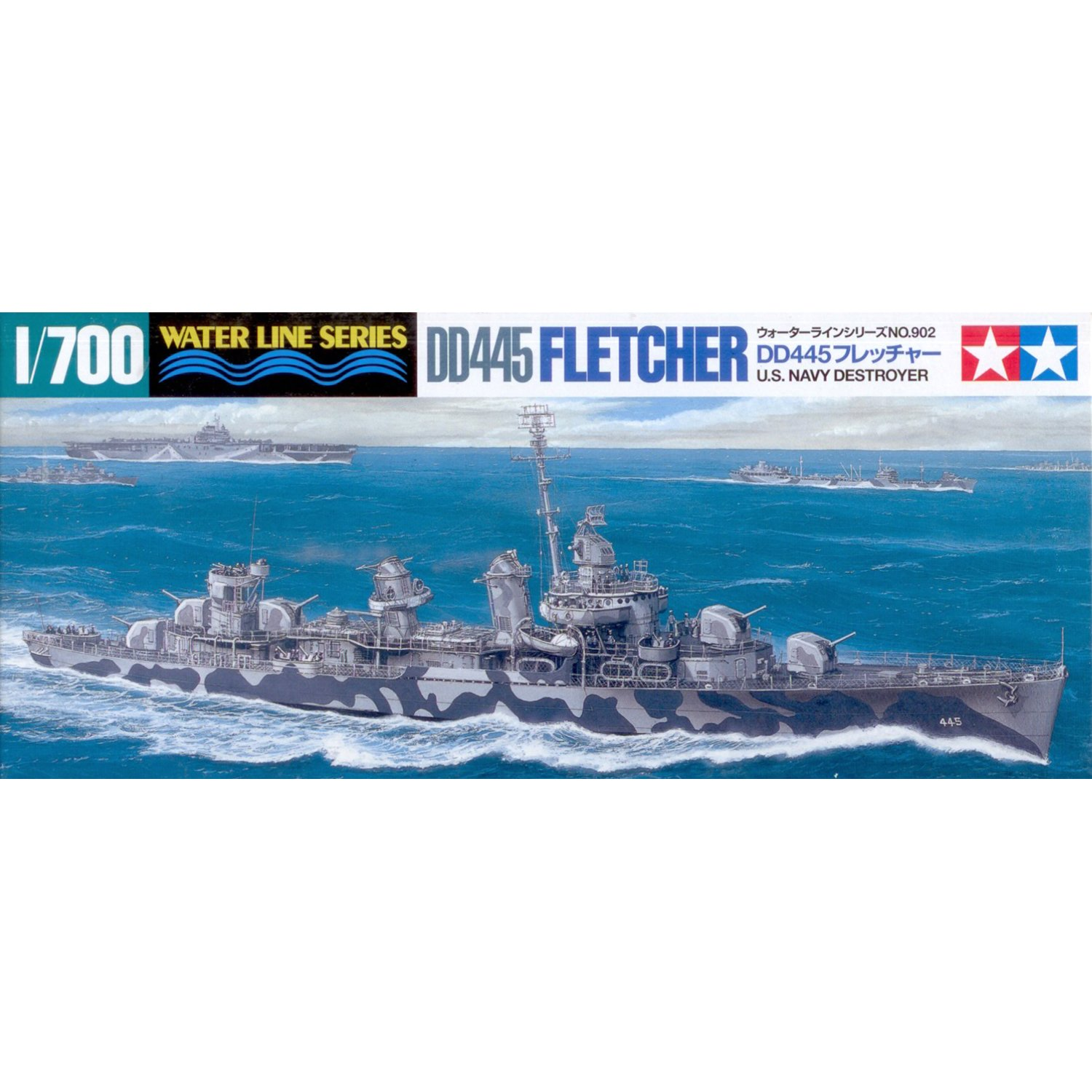 TAMIYA  –   31902  –   Modellbau  –   Boot  –   Destroyer DD445  FLETCHER