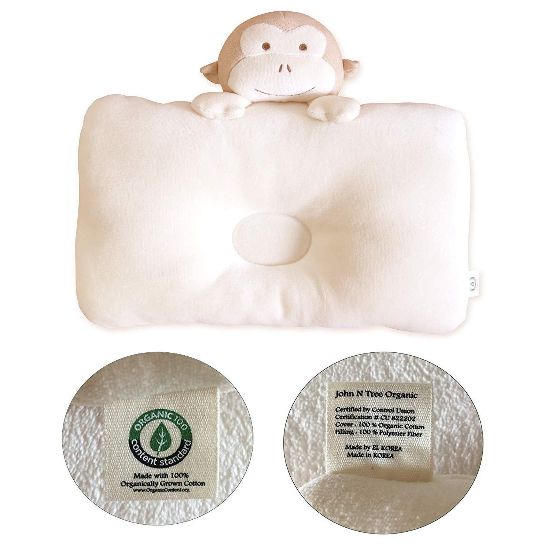 Organic Cotton Baby Protective Pillow Baby Horse