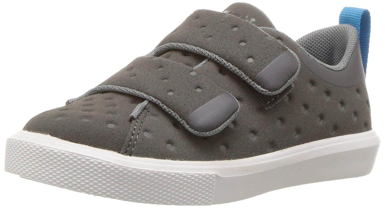 native Unisex Kids' Monaco Velcro Child Sneaker Dblgry/Shlwht 11 M US Little Native Kids 23104400