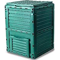 Garden Friend C1933431 Composter 300 l. De Polipropileno Resistente a la Intemperie, Verde.