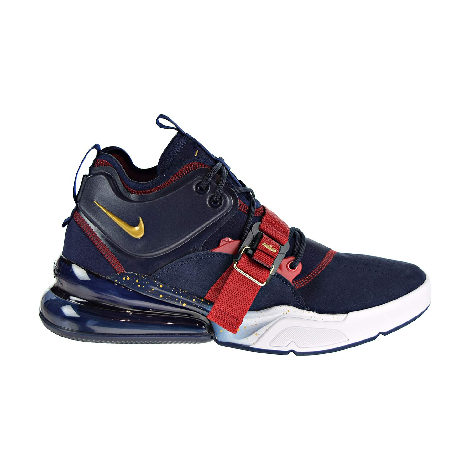 MultiCouleure (Obsidian Metallic or Gym rouge blanc 400) Nike Air Force 270, Chaussures de Fitness Homme 46 EU