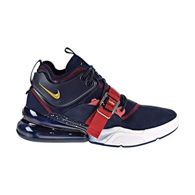 8dc5f9092c4 Nike Air Force 270 quot Olympic Dream Team USA Men s Shoes Obsidian Gold Red