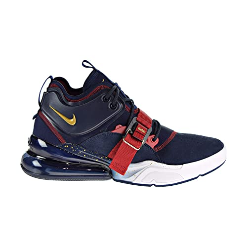 hot sale online 1ab40 cf1ed Nike Air Force 270, Scarpe da Fitness Uomo, Multicolore (Obsidian Metallic  Gold