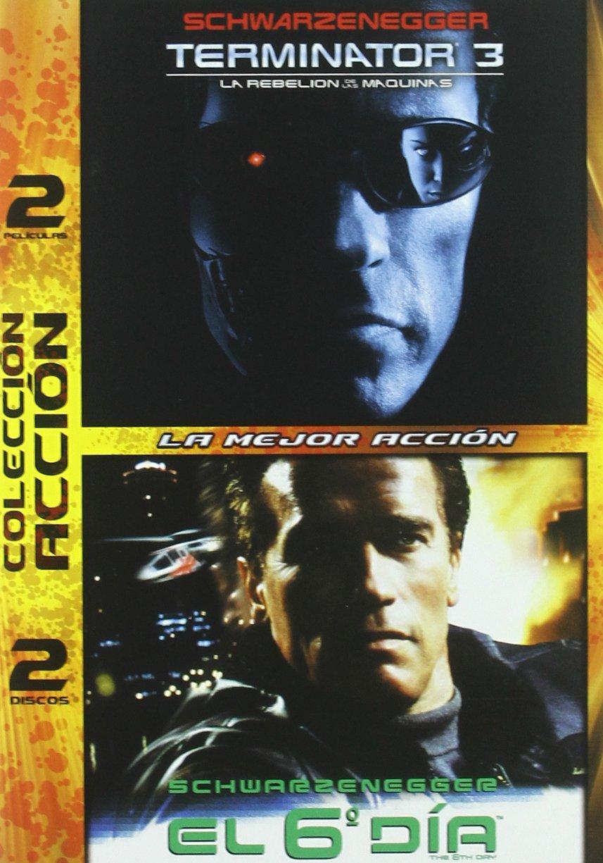 Terminator 3/ El Sexto Dia - Duo [DVD]: Amazon.es: Varios, Arnold ...