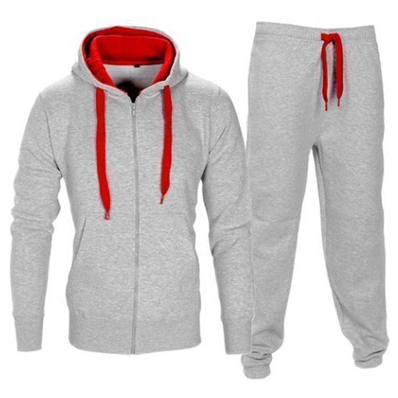 mymixtrendz Kids Boys Contrast Cord Tracksuit Footballsuit Trainingsuit Schoolsuit Hoodie /& Bottom Jog Suit