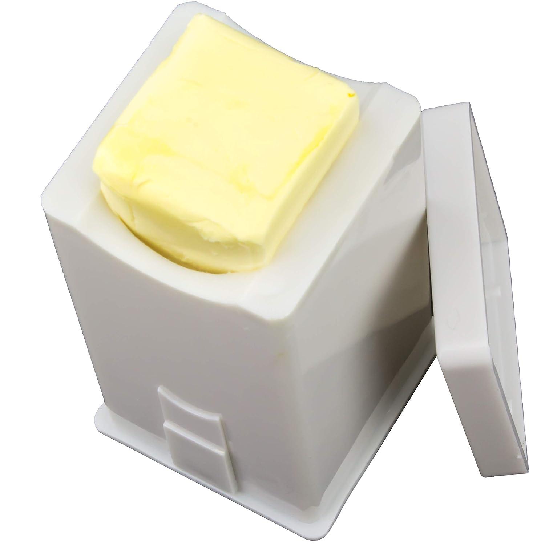 Mess-Free Butter Spreader 2 Pack by Avant Grub. Dishwasher Safe Corn Cob Butterer. Holder Spreads Butter Evenly On Pancakes, Waffles, Bagels, and Toast. Dispenser Ensures Freshness for Each Use.
