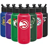 Simple Modern NBA 32oz Water Bottle with Straw Lid Insulated Stainless Steel Summit