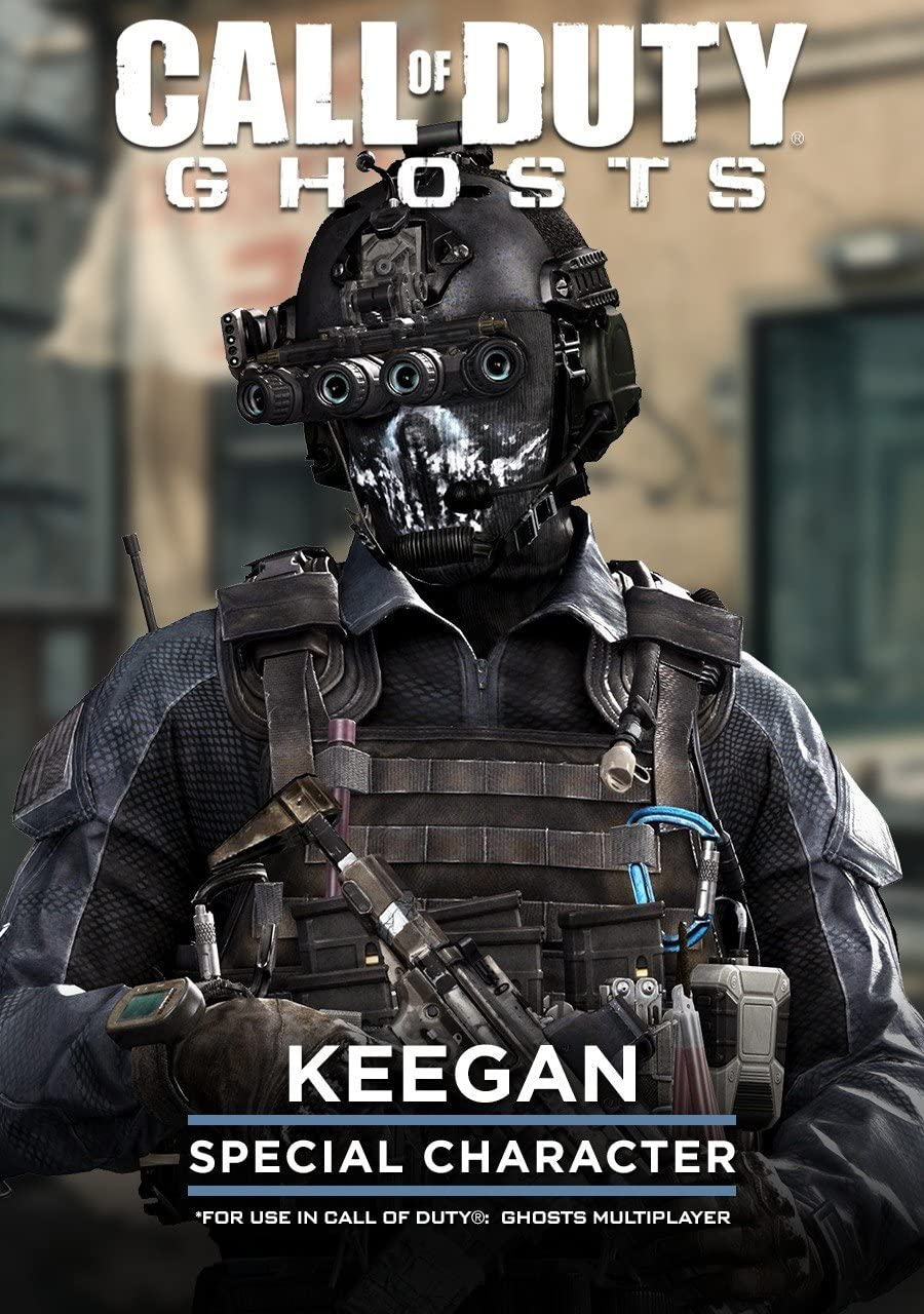 Amazon.com: Call of Duty: Ghost - Keegan Special Character [Online ...