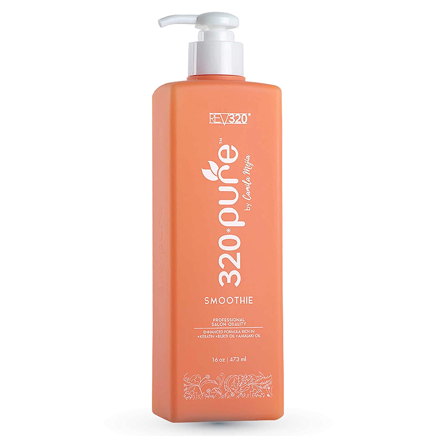 320 PURE SMOOTHIE - Leave In Conditioner - 100% Pure Extracts - Frizz Control Lock In Moisture (16oz)