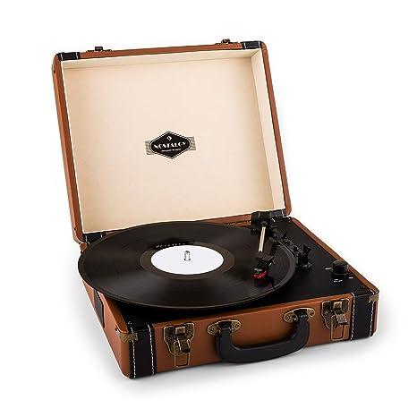 Auna Jerry Lee tocadiscos retro LP USB: Amazon.es: Electrónica