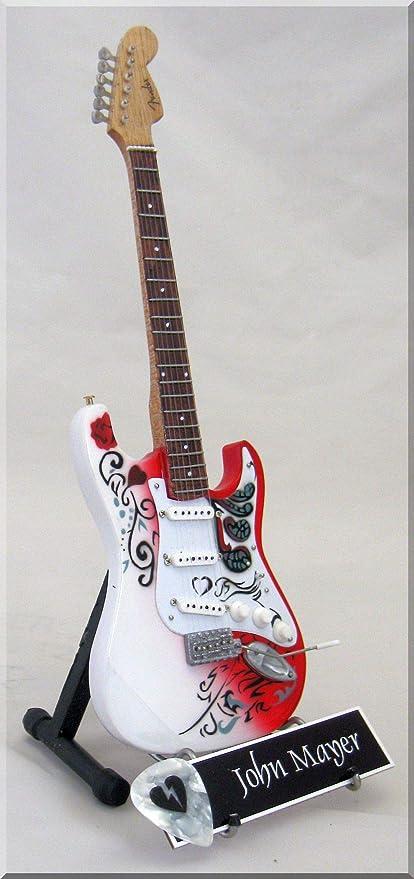 John Mayer Guitarra en miniatura Monterey W/Nombre de etiqueta ...