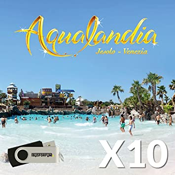 BUSFORFUN Tickets Entrada aqualandia, Best Friends Pack - 10