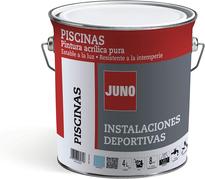 Pinturas JUNO - Pintura acrílica al agua PISCINAS formulada para ...