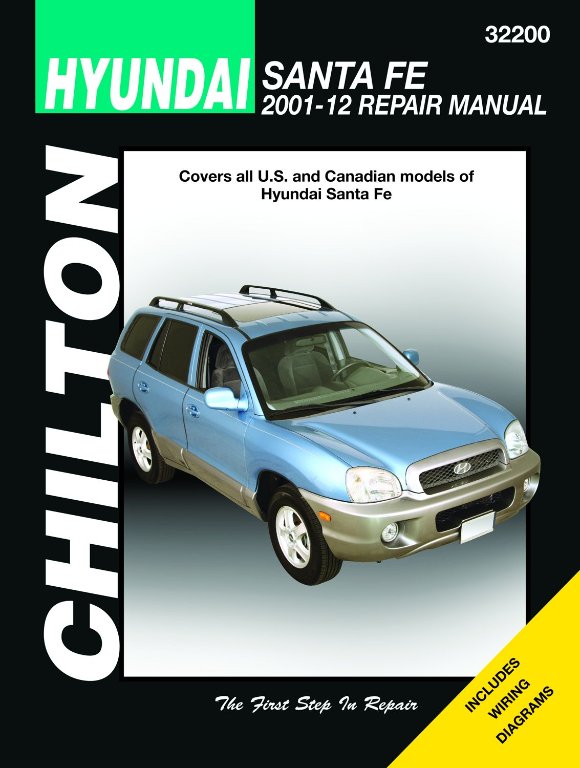 hyundai santa fe repair manual 2001-2012 paperback – 2015
