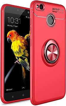 TiHen Funda Xiaomi Redmi 4X, 360 Grados Protective con Anillo ...