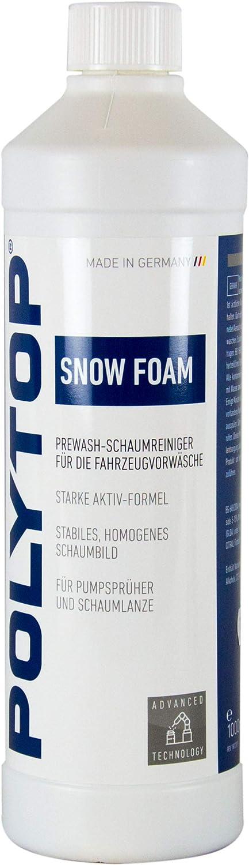 Polytop Snow Foam Shampoo Autoshampoo Autoreiniger Schaumreiniger 1 L Liter Auto