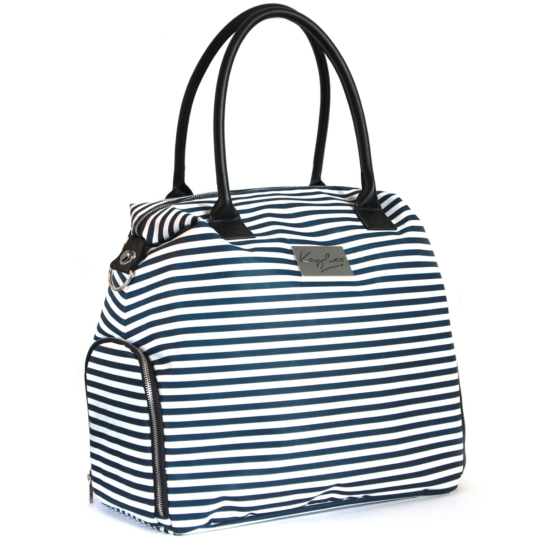 Amazon Com Kaylaa Premium Breast Pump Bag Luxury Stripe Baby