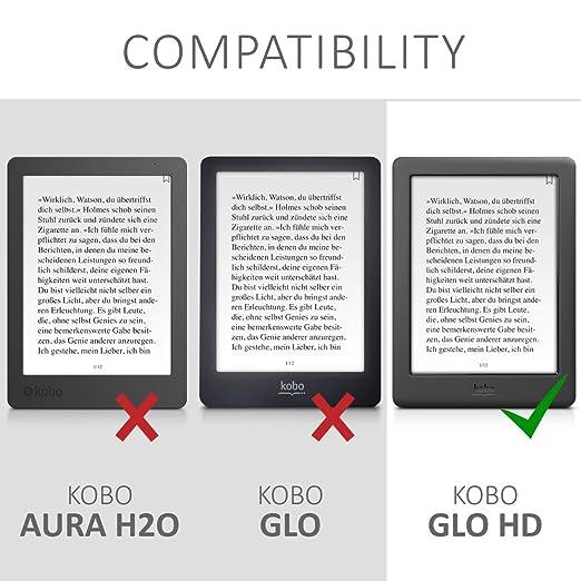 kwmobile Funda para Kobo GLO HD/Touch 2.0: Amazon.es: Electrónica