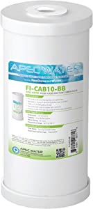 "APEC 10"" Whole House High Flow GAC Carbon Replacement Water Filter (FI-CAB10-BB)"
