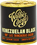 Willie's Cacao 100 Percent Venezuela Black Hacienda Las Trincheras for Cooking 180 g (Pack of 2)