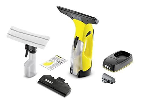 Karcher Window Vacuum Premium Non Stop Cleaning Kit WV5 with Charging Station and Replacement Battery