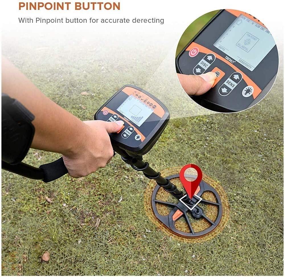 Znesd Detector de Metales - Sensibilidad y Volumen Ajustable ...