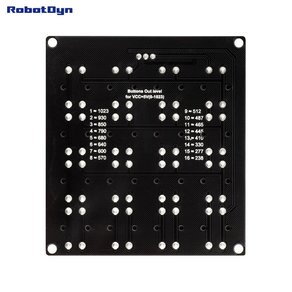 Button Keypad 3x4 Module One Analog Out Compatible For Membrane 1x4 Wiring Diagram Arduino Raspberry Pi Stm32 Computers Accessories