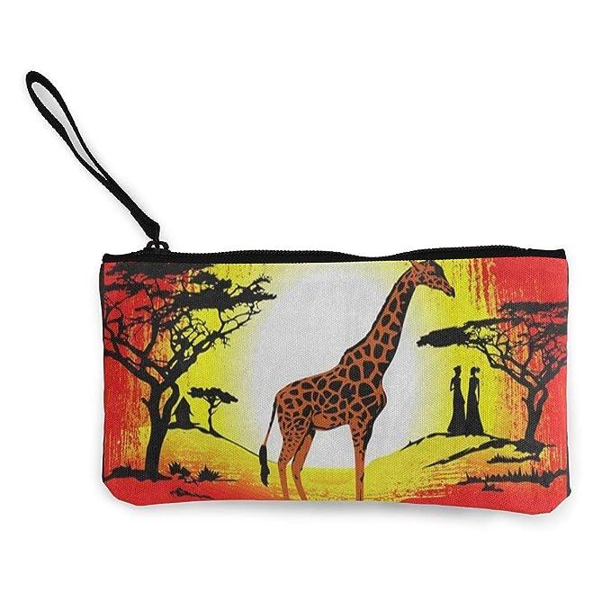Amazon.com: Monedero africano de la cultura egipcia jirafa ...