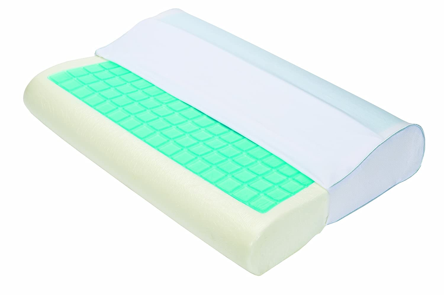 Obusforme PL-Gel-CT Thermagel Memory Foam Contour Pillow