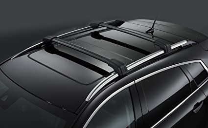 Amazon Com 2010 2013 Cadillac Srx Roof Rack Cross Rail Package By