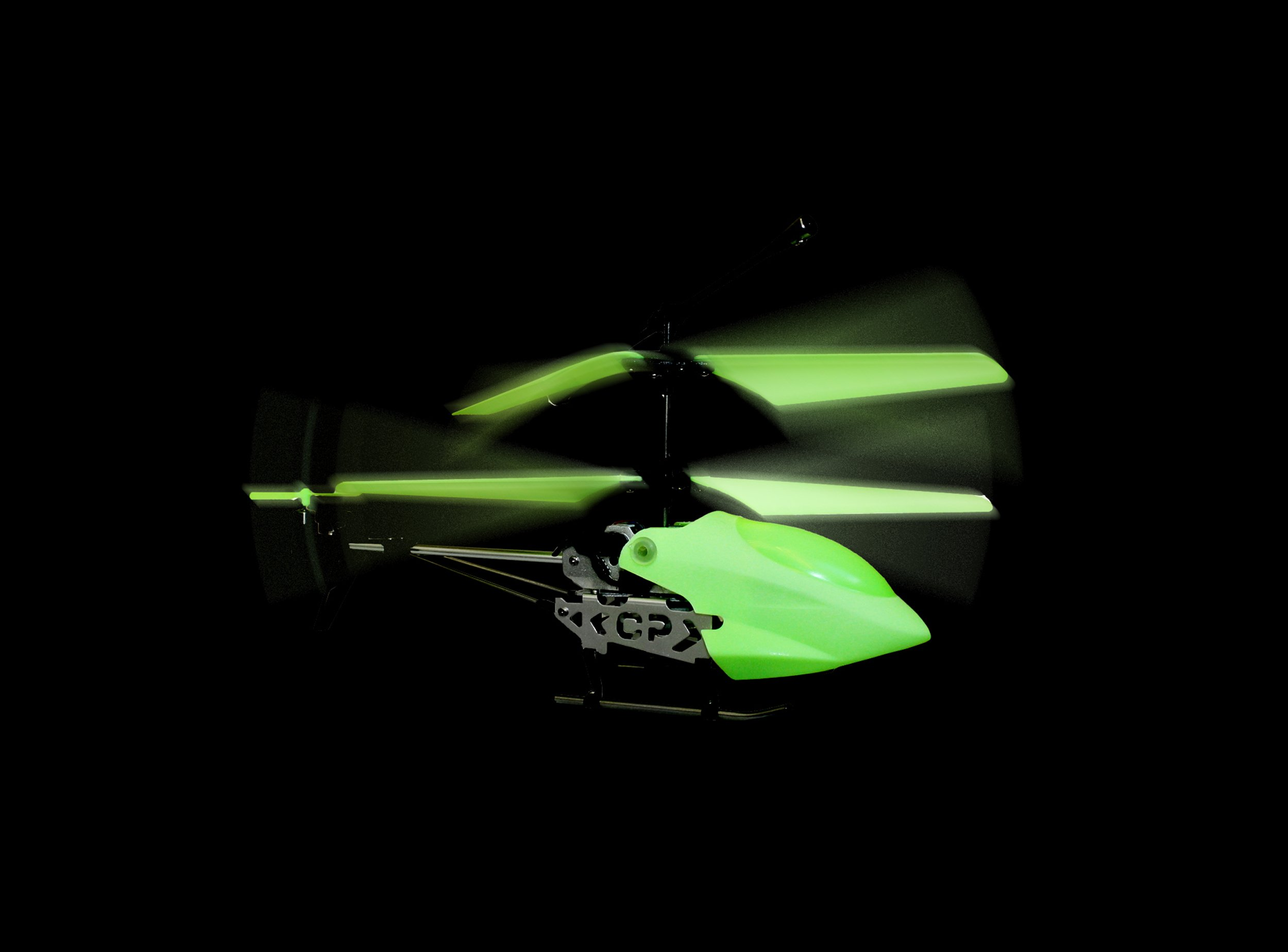 THUMBS UP Thumbsup UK, Glow in The Dark RC Helicopter by THUMBS UP (Image #2)