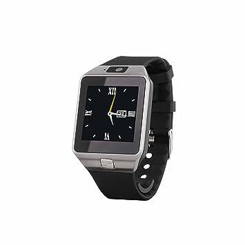 Clipsonic tec589 Reloj Inteligente con Insert Tarjeta SIM Negro Metal: Amazon.es: Electrónica
