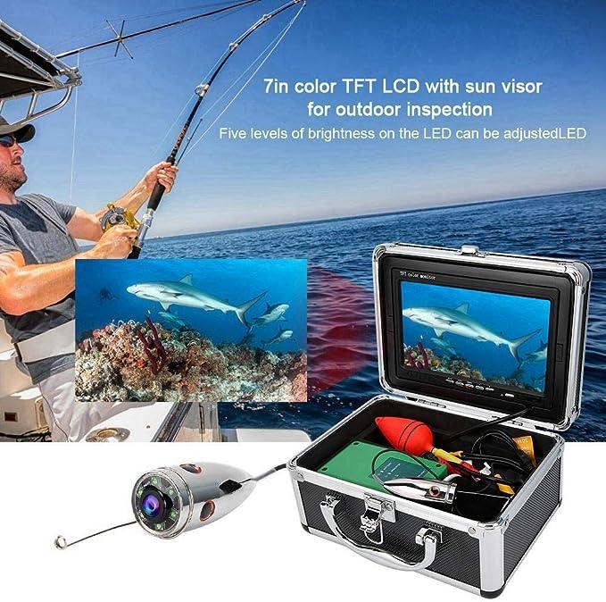 US Standard 100-240v 1000TVL LED Cold-Resistant Fishing Video Camera Camera 6 High Power