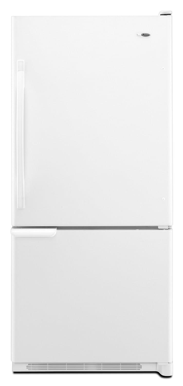 Amazon: Amana 219 Cu Ft Bottomfreezer Refrigerator, Abb2221wew,  White: Appliances