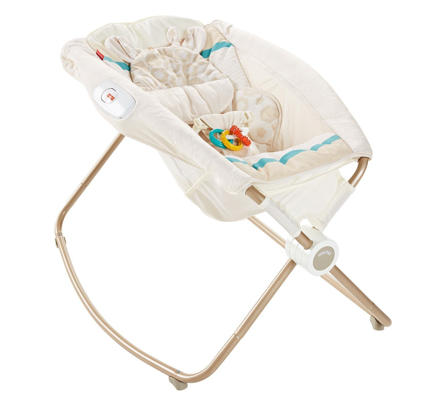 Fisher-Price Deluxe Rock 'n Play Sleeper, Soothing Savanna